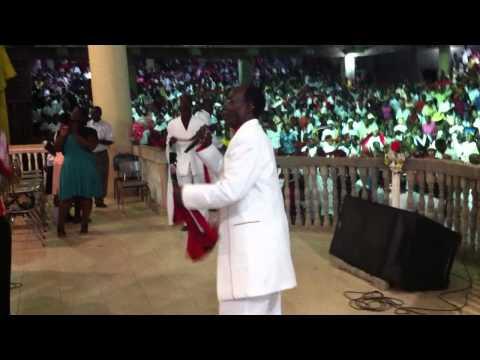 Donatien Ecclesias, Tabernacle de Louange, Cap-Haitian, Haiti worship