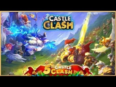 Castle Clash Live My Free 2 Play  Account
