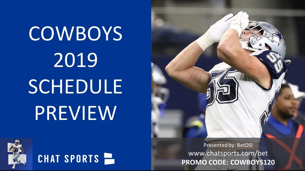 Nfl Preseason Games 2020.Dallas Cowboys 2019 Schedule Home Games Away Games And What Teams The Cowboys Play