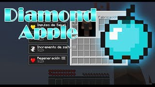 Minecraft 1.7.2 | Diamond Apple MOD | [La manzana de chuck Norris]