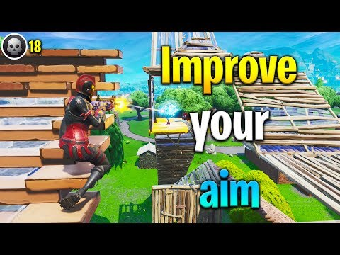 3 tips to IMPROVE YOUR AIM in Fortnite! How to get better at Fortnite! Fortnite tips!