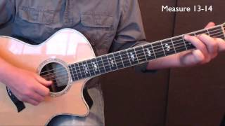 Guitar Lesson - Glory Glory Halleluja - Since I Laid My Burden Down - Mississippi John Hurt