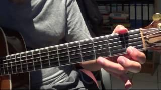 Hướng dẫn solo đơn giản - Hai mươi năm tình viễn xứ   (Phần 1-Dò Note))