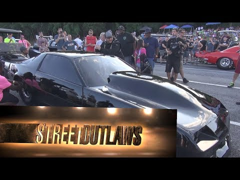 Kye Kelley Shocker from Street Outlaws in Hagerstown Md Mason Dixon Dragway vs Bowie and Proctor