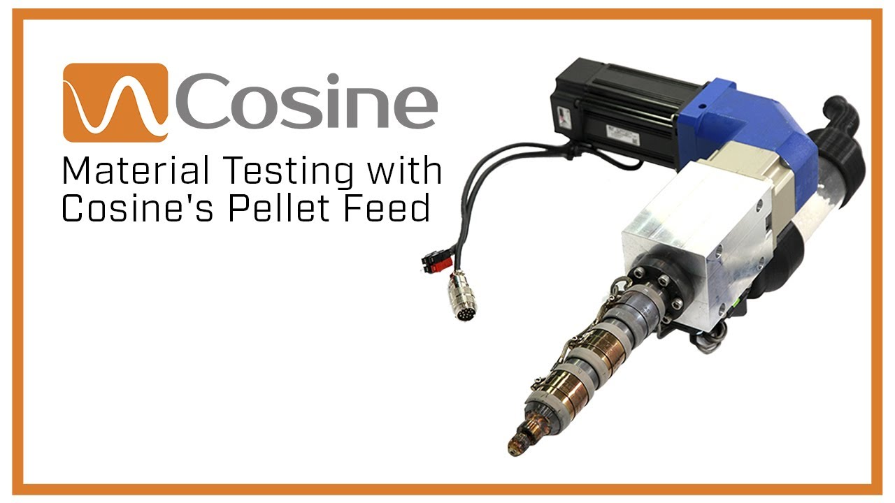 Material Testing with Cosine's Pellet Feed