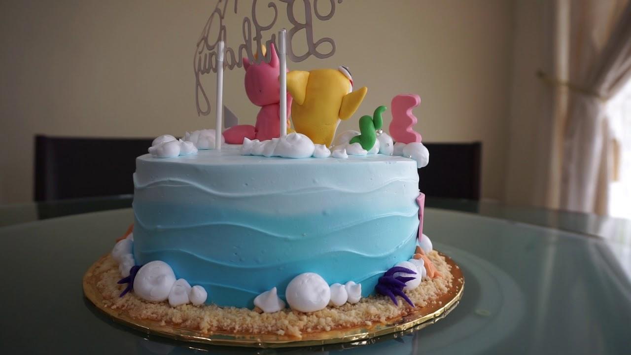 Baby Shark Birthday Cake Youtube