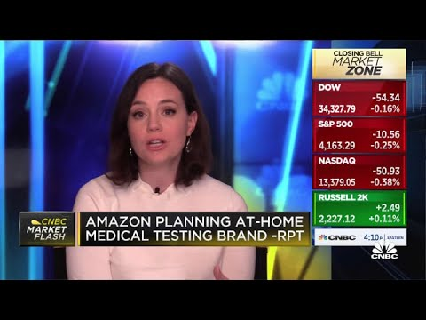 Amazon plans to launch its own at-home medical testing brand