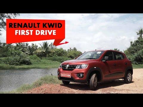 Renault KWID : First Drive : PowerDrift
