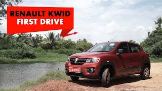 Renault KWID | First Drive | PowerDrift