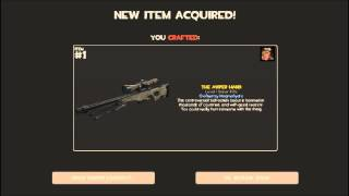 TF2   Crafting the AWP