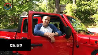 homepage tile video photo for 2020 Jeep Gladiator Door Removal Time Challenge