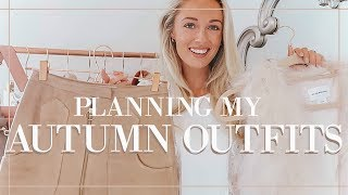 PLANNING AUTUMN OUTFITS ft Last Year's Favourites // Fashion Mumblr