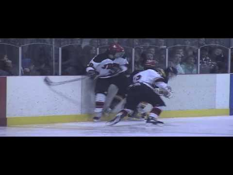 Juneau Douglas High Varsity Hockey vs Bartlett High January 2010