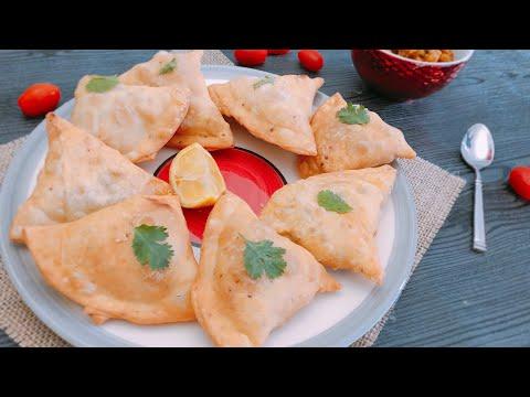 Samossa Pommes de Terre / Petit Pois ( spécial ramadan )