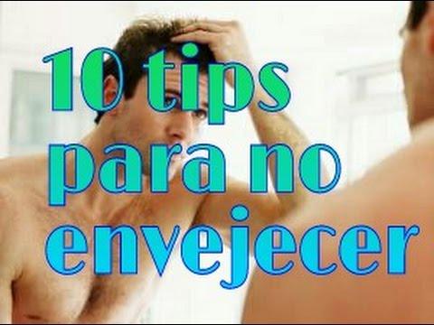 10 Tips para no envejecer