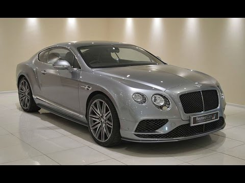 2016 bentley continental w12 gt speed at baytree cars youtube. Black Bedroom Furniture Sets. Home Design Ideas