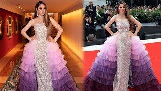 CHOÁNG NGỢP khi Lý Nhã Kỳ xuất hiện lộng lẫy với váy đính ngàn viên PHA LÊ dự LHP Venice ngày thứ 3