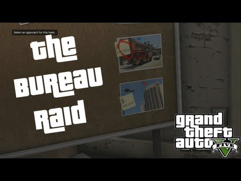 Full download gta v fib heist helicopter option for Bureau raid crew