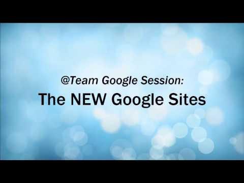 The NEW Google Sites