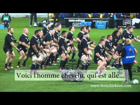 Le haka des All Blacks sous-titré en français ! Difficile d'imaginer ça