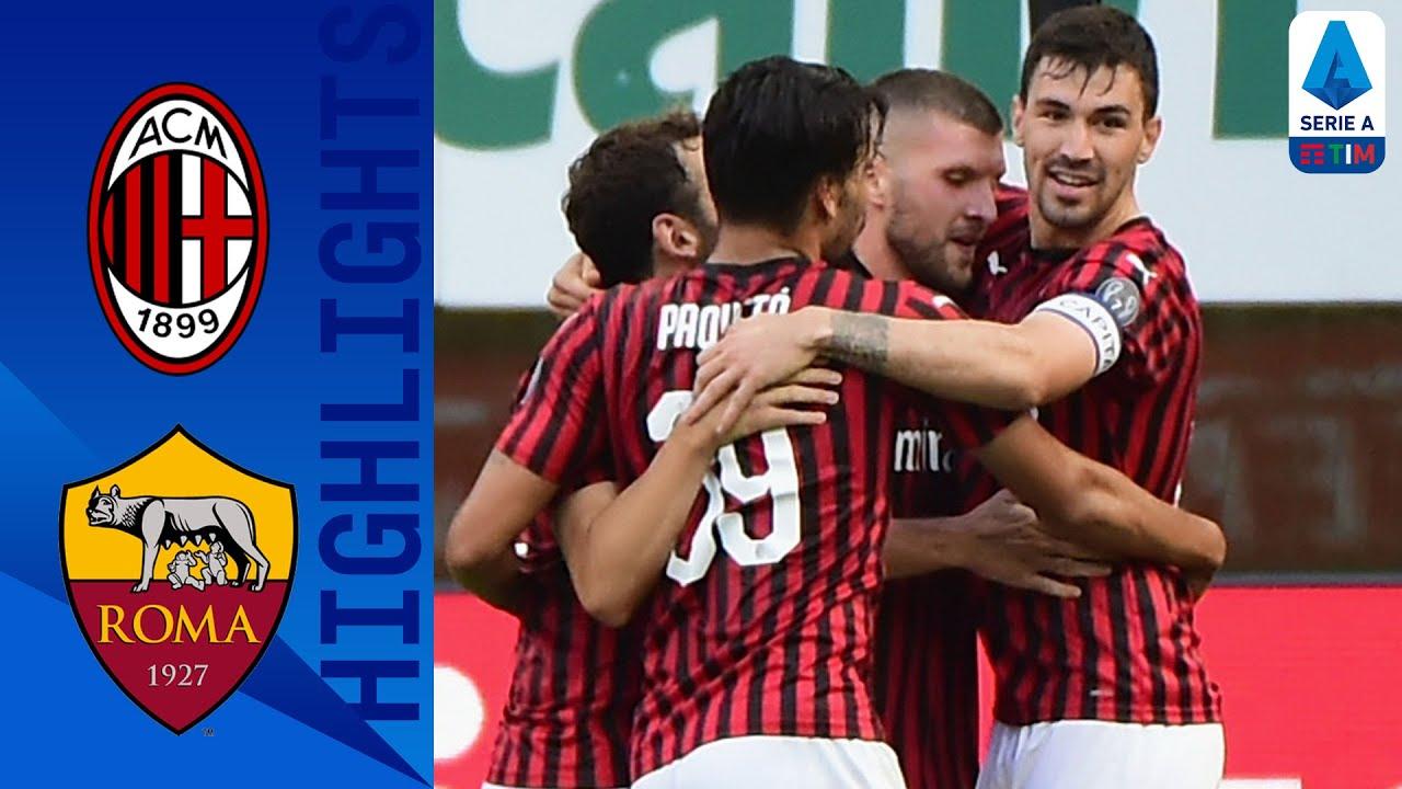 Милан  2-0  Рома видео
