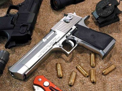 DesertEagle ปืนสั้นที่แรงที่สุดในโลก