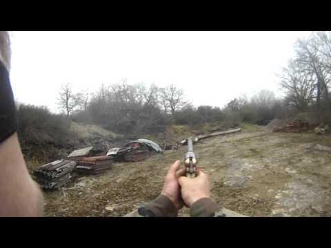 tir au pistolet poudre noir