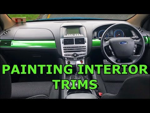 How To Paint Interior Trims | Ford Falcon FG How To