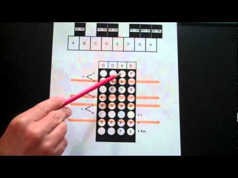 Violin how to find notes on the Violin Fingerboard Geography part ...