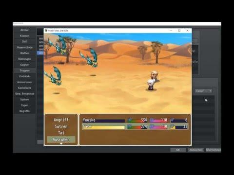 RPG Maker MV Battle System |YEP ATB Battle System|