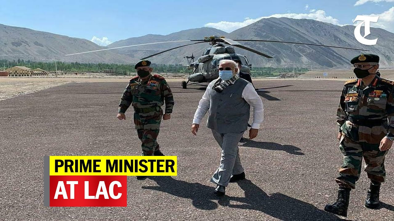 PM Modi reaches Ladakh to assess border situation with China