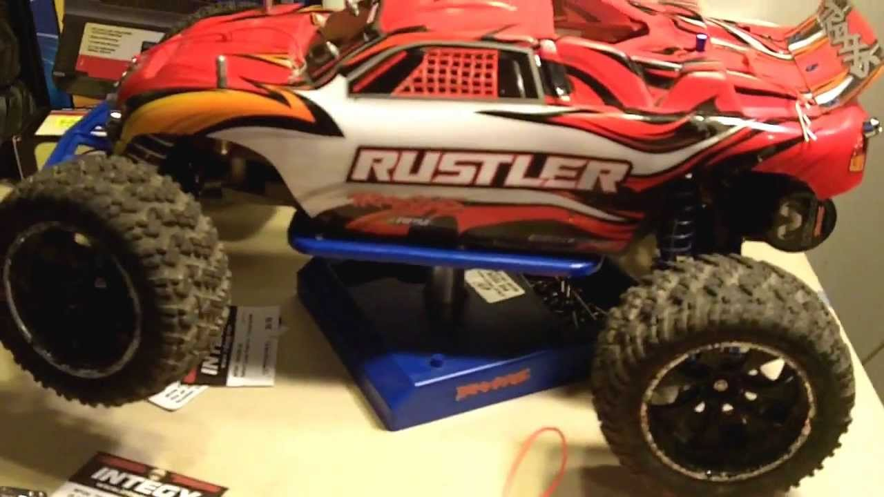 Full light kit rustler up date rpm integy youtube full light kit rustler up date rpm integy mozeypictures Images