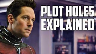 Avengers: Endgame Plot Holes Explained