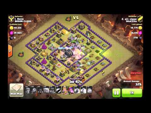 Clash of Clans #10 - TH9 MASS WITCH 3-star