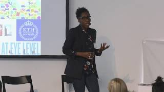 Maria Adebowale Schwarte Cities for All Conference Stockholm