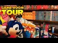 Barry's SEGA Game Room & Sonic the Hedgehog Collection Tour Part 1