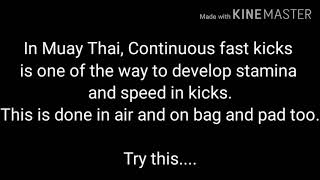 Muay Thai fast kicks competition in academy || Muay Thai speed kick drills | Ranjit Mishra Muay Thai