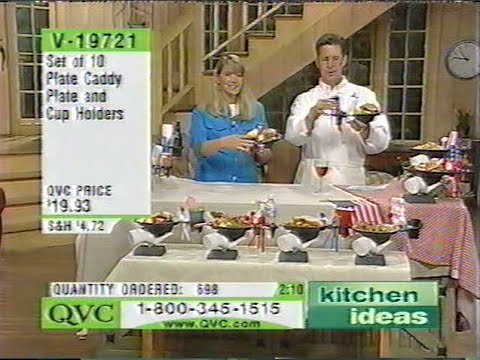Plate Caddy Qvc Kitchen Ideas With Bob Bowersox Youtube