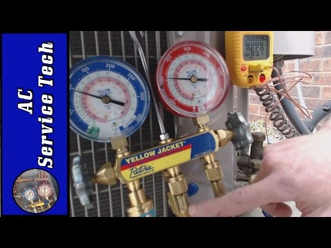 Charging Refrigerant: Step by Step  Procedure to Check a R-410a Charge in an Outdoor AC unit
