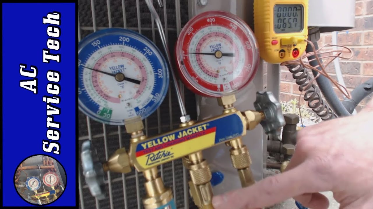 Charging Refrigerant Step By Step Procedure To Check A R