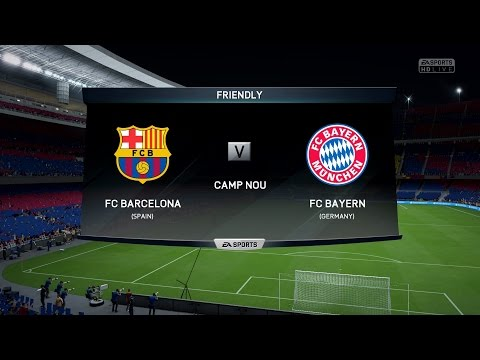 FIFA 16 | FC Barcelona vs FC Bayern Munich - Full Gameplay (PS4/Xbox One)