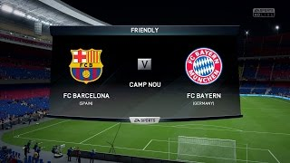 Follow me on twitch @ http://www.twitch.tv/blink182x full hd fifa 16 gameplay of fc barcelona vs bayern munich xbox one | ps4 1080p recorded with elgato...