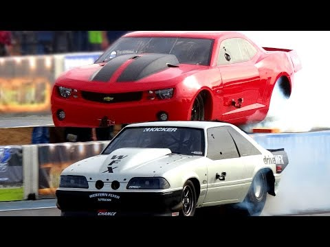 Street Outlaws Chuck calls out number one Fireball Camaro in a grudge race   Can he win?