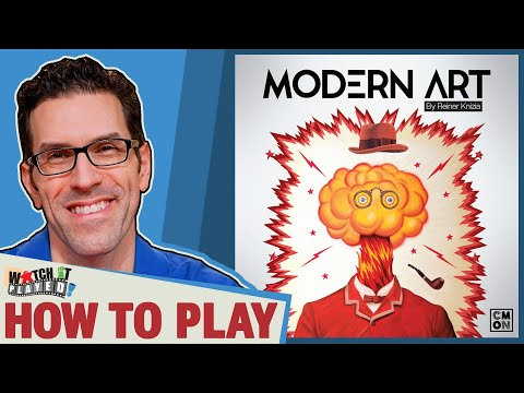 Modern Art - How To Play