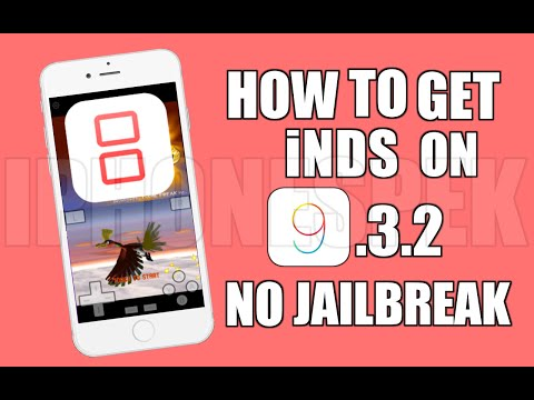 How to install Nintendo DS iOS 9 3 2 No JAILBREAK NDS4IOS