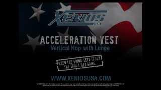 Acceleration Vest-Vertical Hop with Lunge
