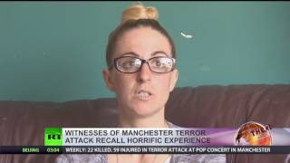 'I was just trying to keep the kids from getting crushed' - Survivors recall Manchester Arena blast