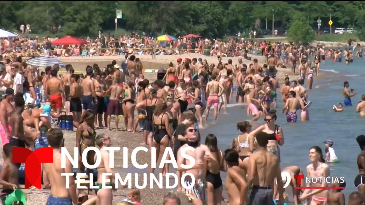 EN VIVO: Noticias Telemundo con Julio Vaqueiro, lunes 6 julio 2020