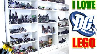 HUGE LEGO DC Super Hero Collection!!!