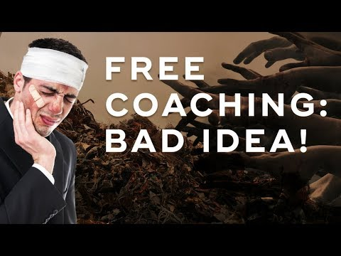 High-Ticket Sales Strategy: Why Doing Free Coaching Is Bad - The Art of High Ticket Sales Ep. 16